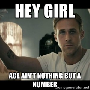age - number