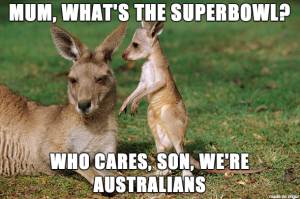 superbowl kangaroos